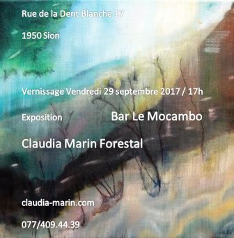 Flyer vernissage 29 septembre 2017