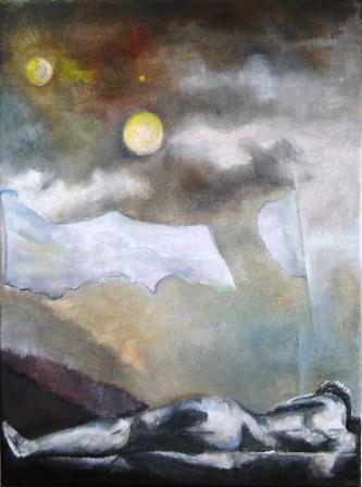 repos sous la lune